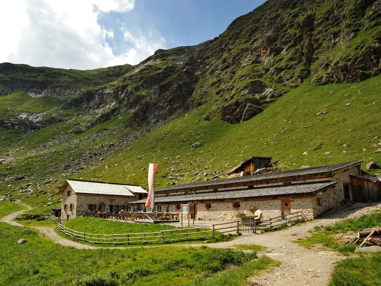 Bergtour zur Oberkaseralm