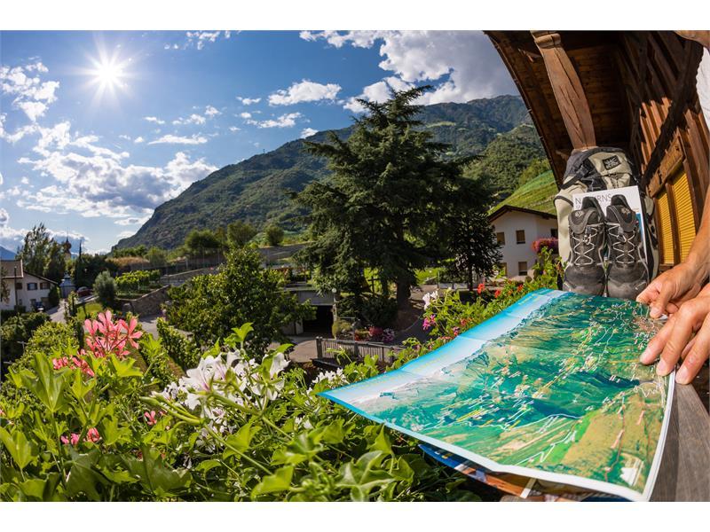 Wanderurlaub in Naturns | Residence Nischlhof