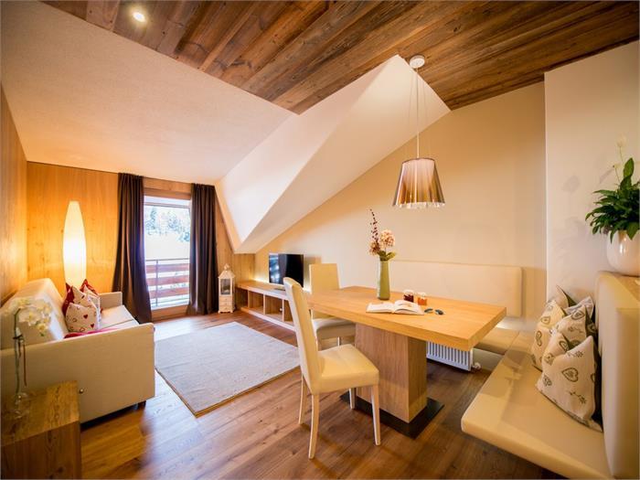 Wohnzimmer Chalet Compatsch