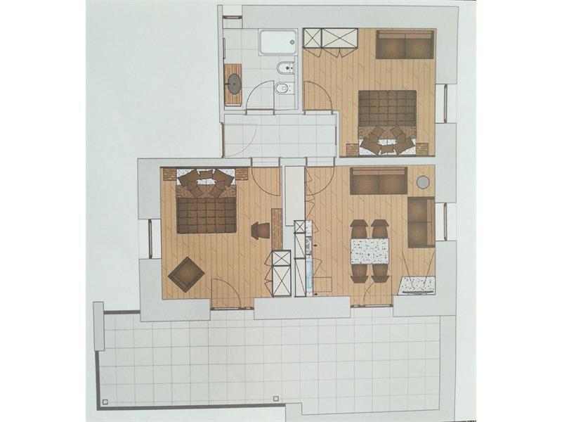 Piano dell 'appartamento