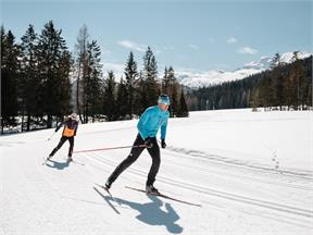 Gran Ancëi cross-country skiing slope