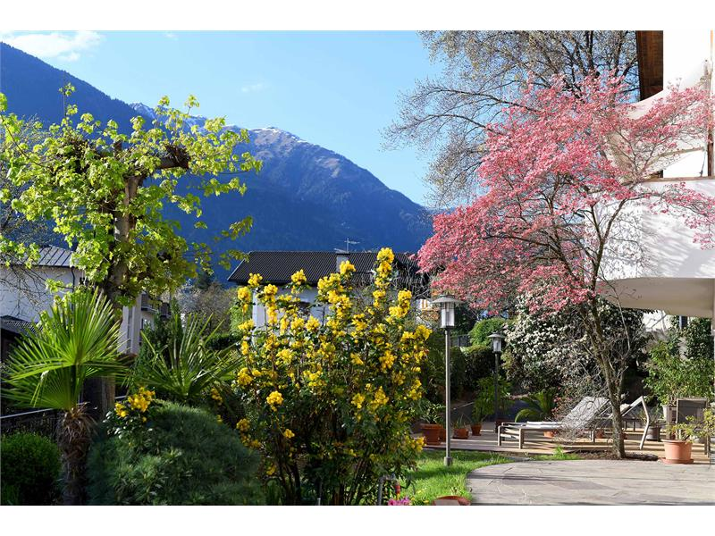 Chalet Schlossblick Terrasse