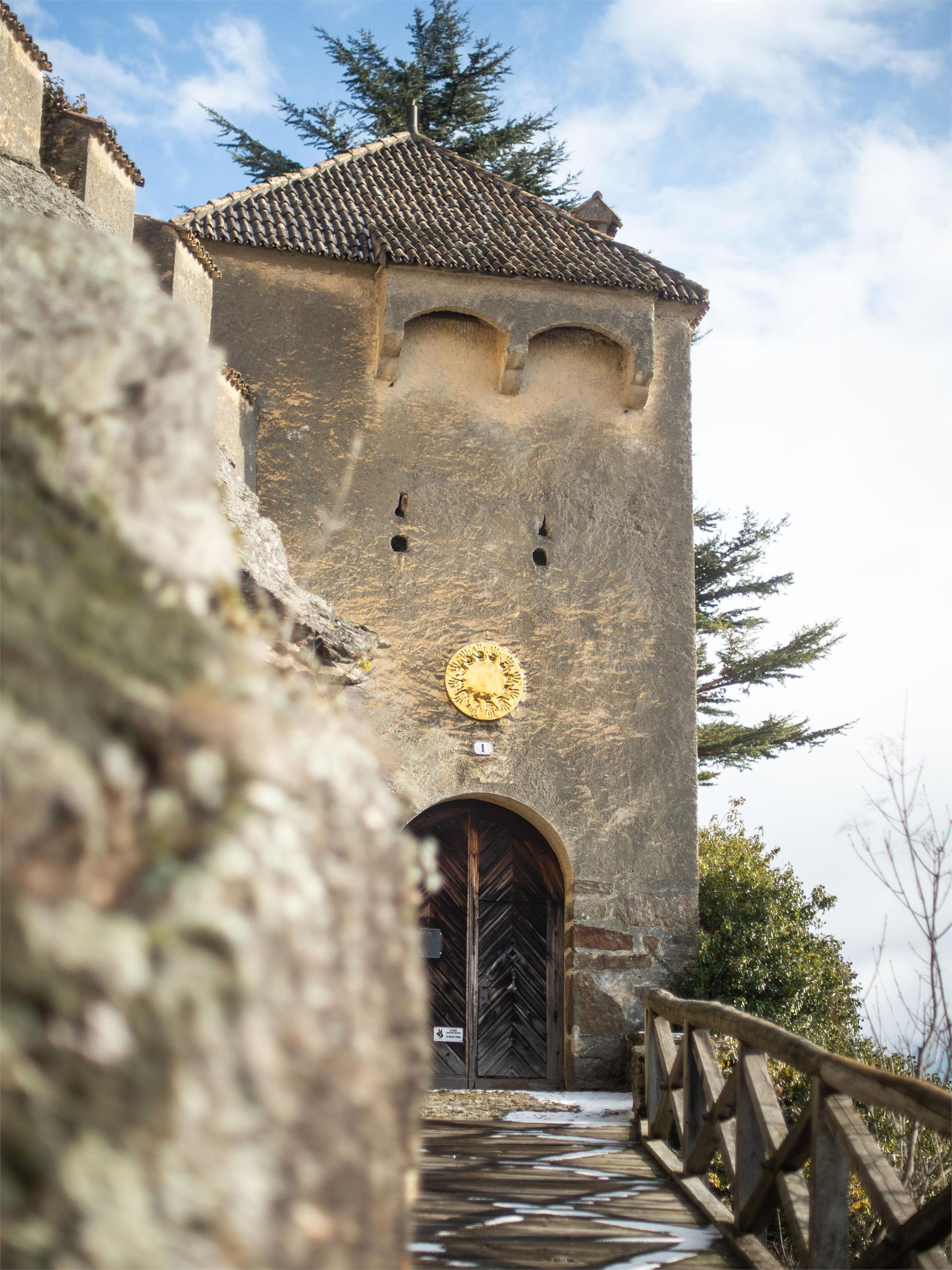 Castello Juval - sentiero della roggia di Ciardes