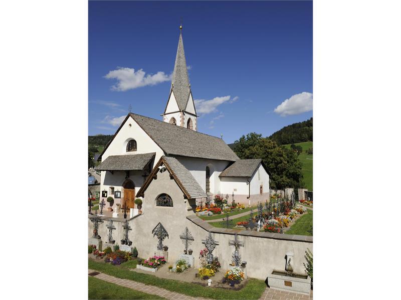 Parish church in Hafling