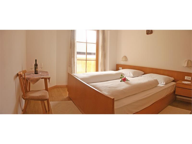 Gli appartamenti al maso Ganthalerhof sono arredati comfortevoli