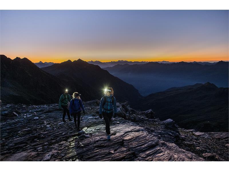Tour in montagna sopra Merano
