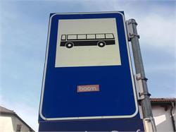 Bus stop, Villandro/Villanders-Sturm