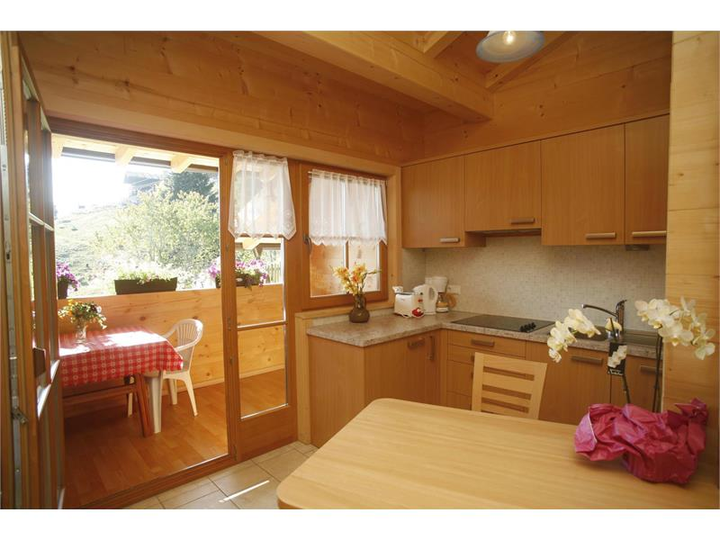 The kitchen - apartment A