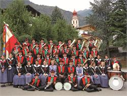 Concert of the music band of Tschars/Ciardes