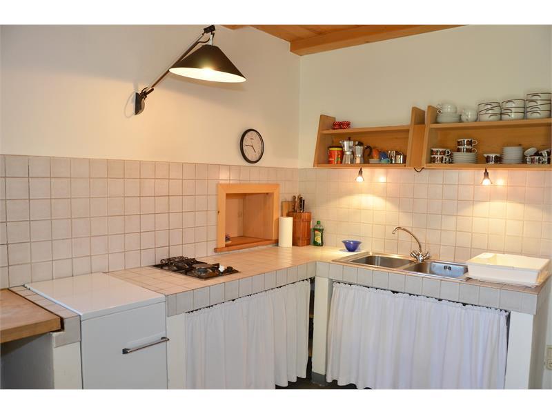 Geräumige Küche - Kohlstatt Hütte