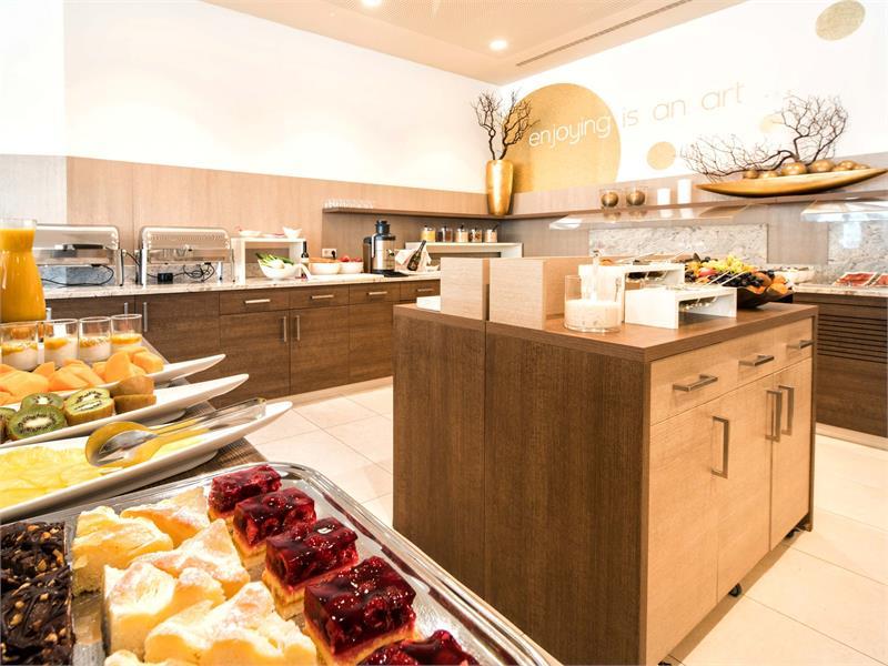 City Hotel Merano - Ristorante CITY Buffet di prima colazione