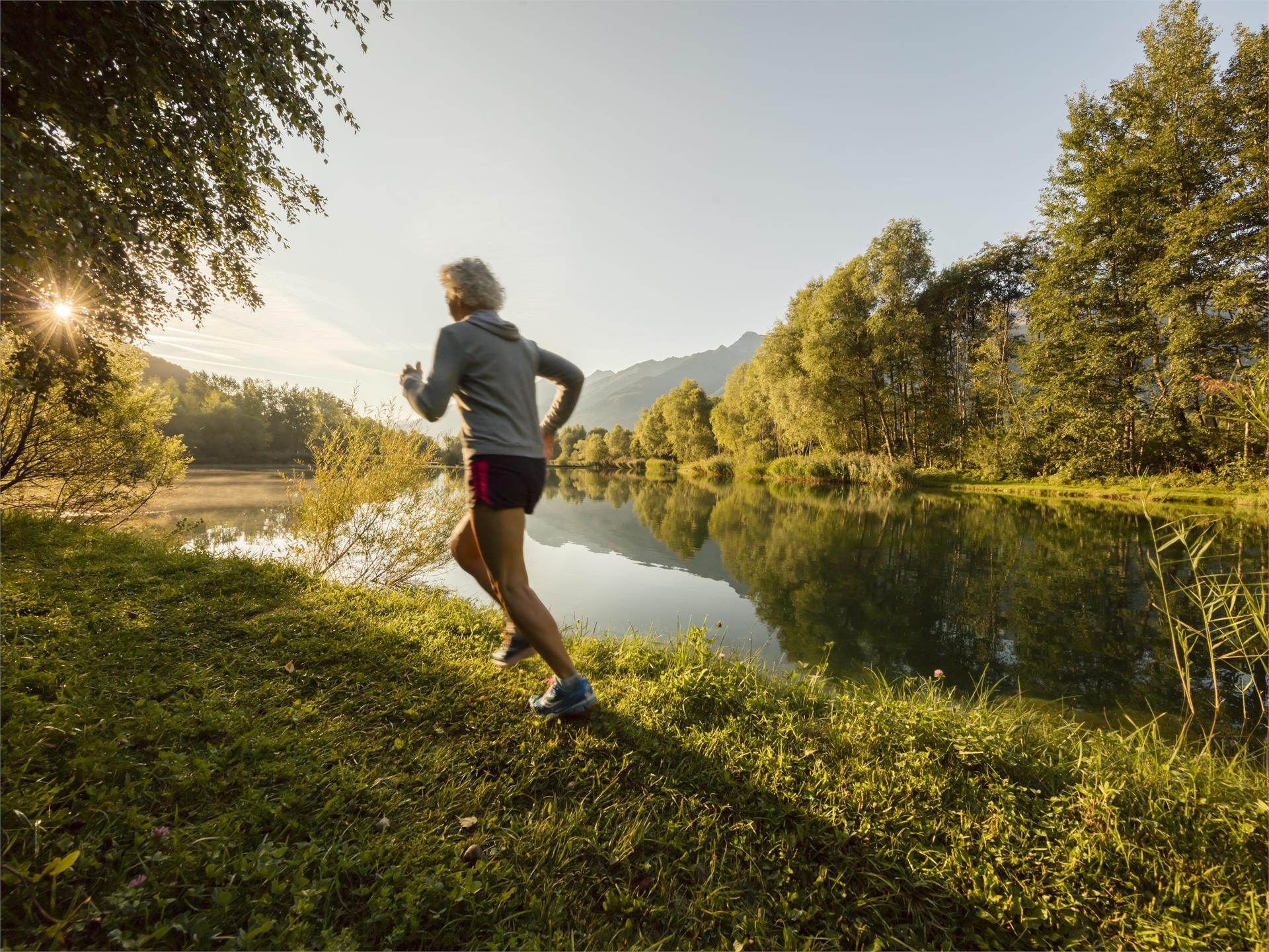 Durch die Freude an der Bewegung zu mehr Beweglichkeit: Kraftort Natur