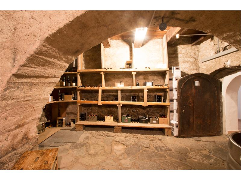Ancient cellar with earth tamped soil
