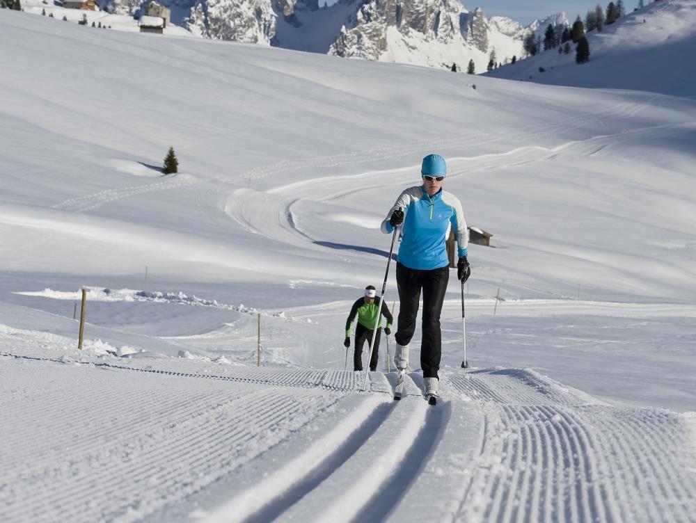 cross country skiing San Candido Innichen Alta Pusteria Hochpustertal