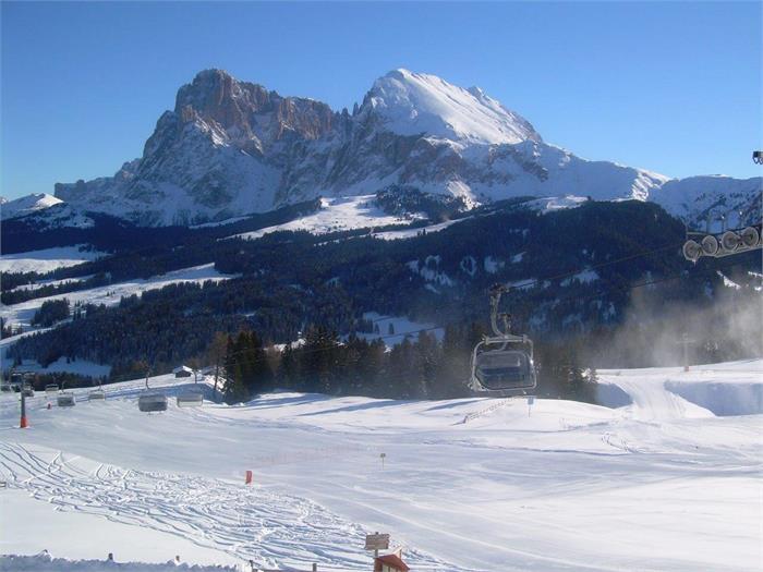 winter on the Alpe di Siusi