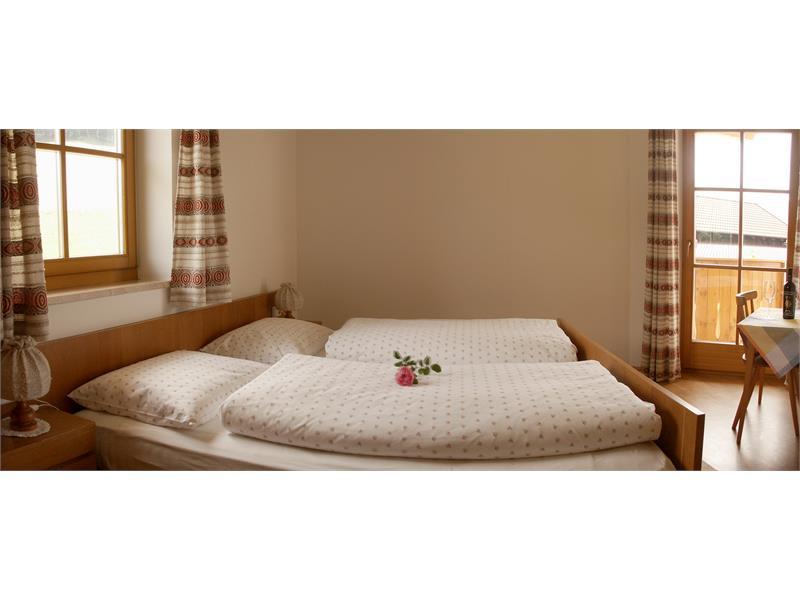La camera da letto nell'appartamento
