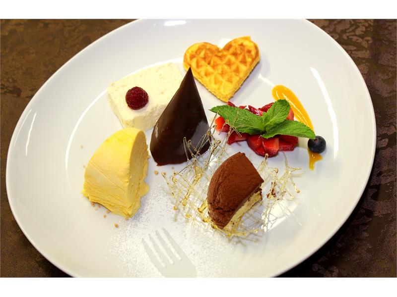 Dessert creation