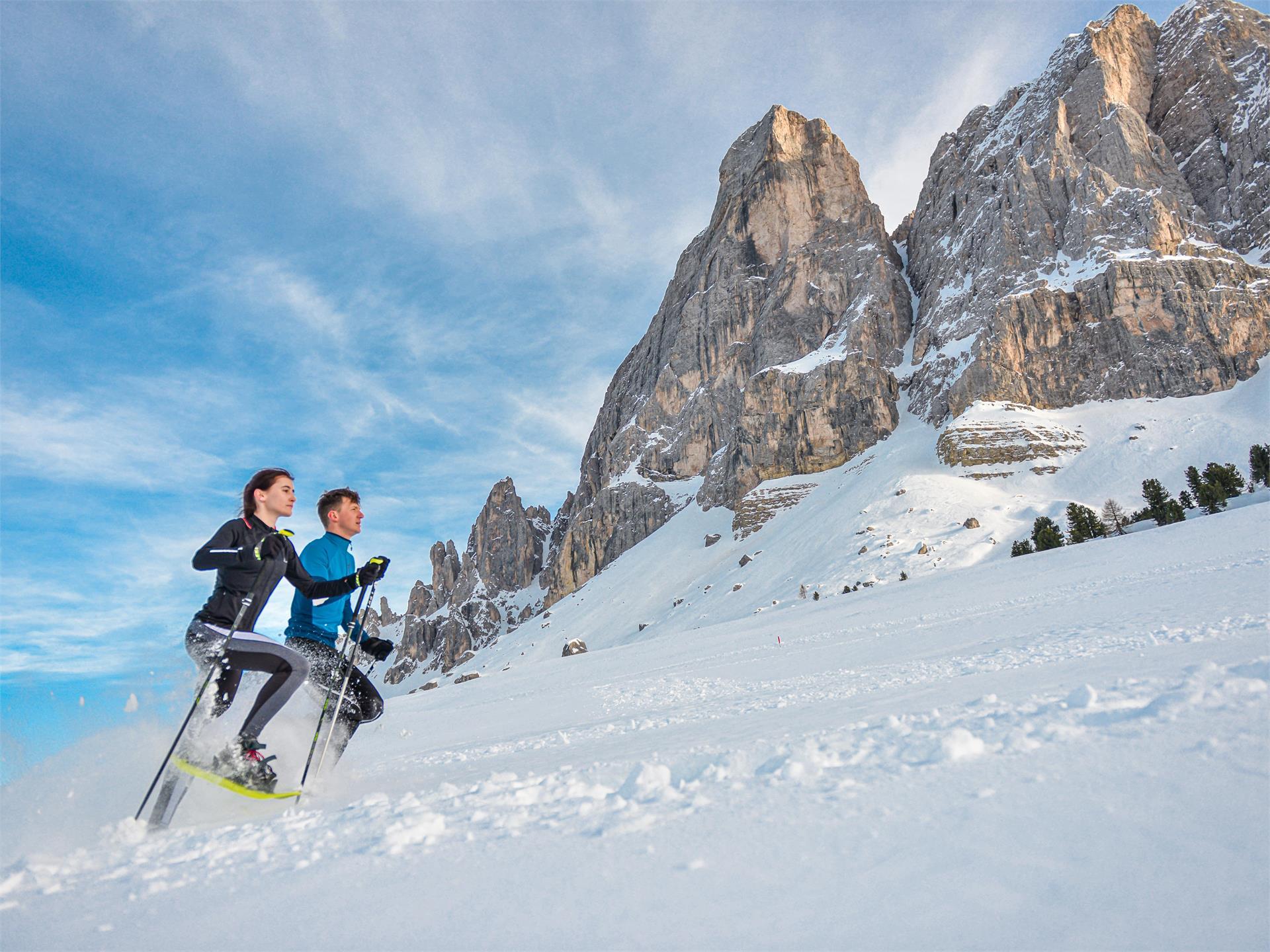 LES CIASPES - 1° Schneeschuhrennen Südtirols