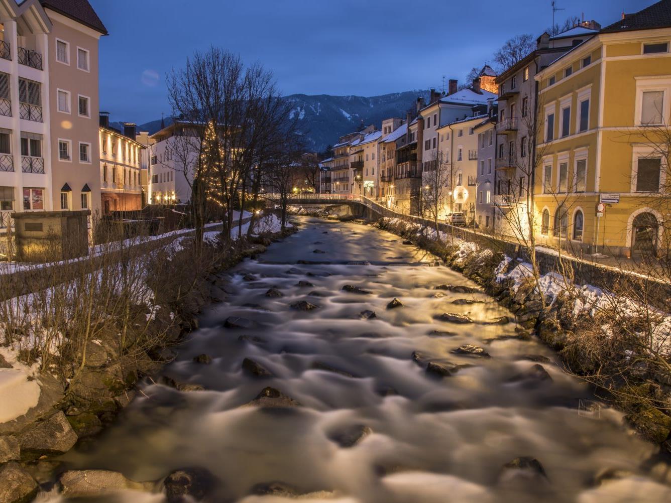 """Stadtführungen """"Erlebnis Stadt Bruneck"""" im Winter"""