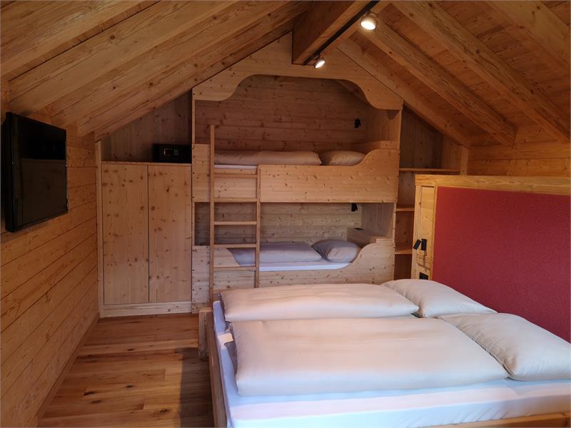 Chalets Lagaun Schlafzimmer 1