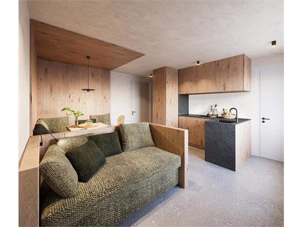 living room kitchen suite
