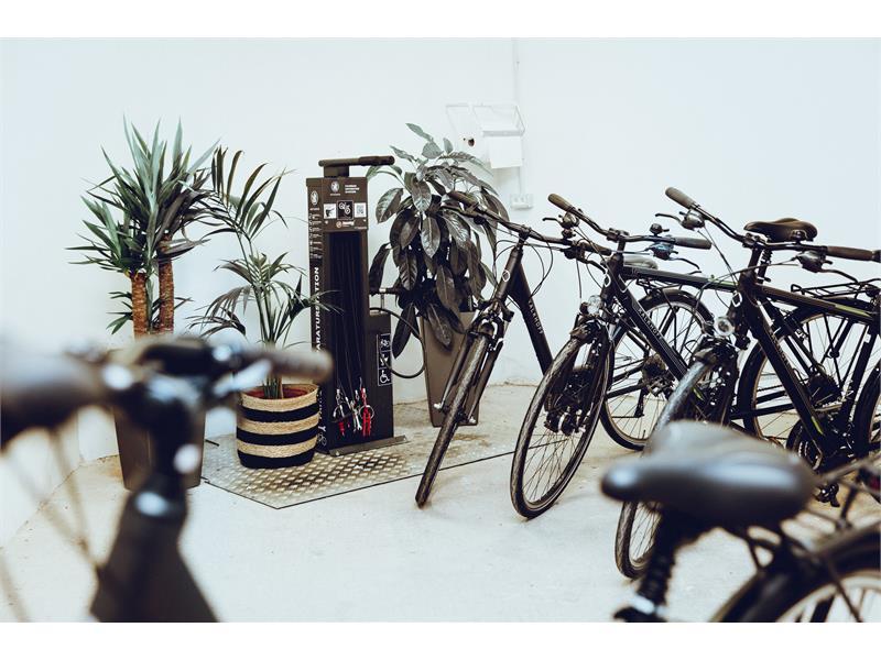 Mudroom & Bikeverleih