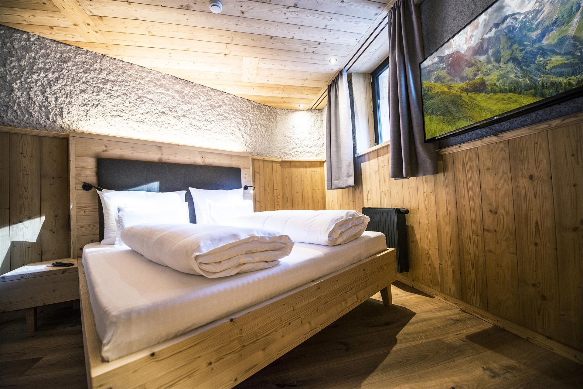 Lodge with double room