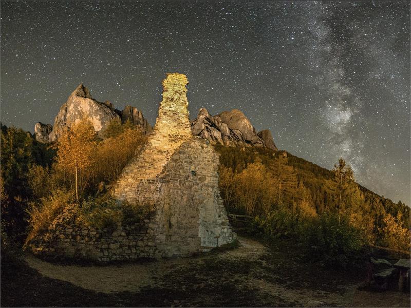 The ruins of Salegg