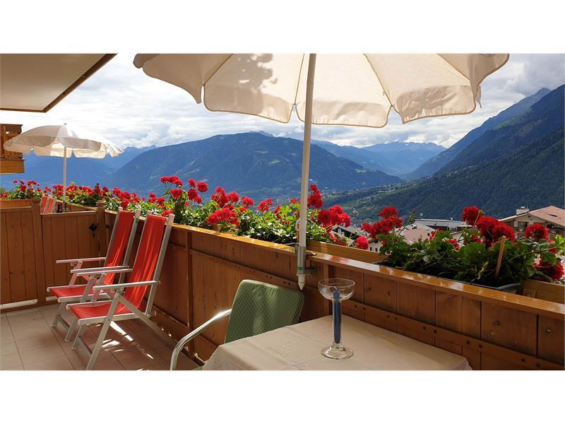 Ferienwohnung Talblick Typ 4 Balkon