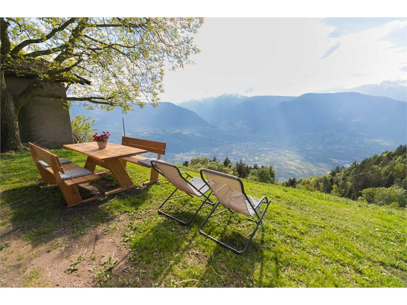 Vista panoramica - Maso Gruberhof a Verano, Alto Adige