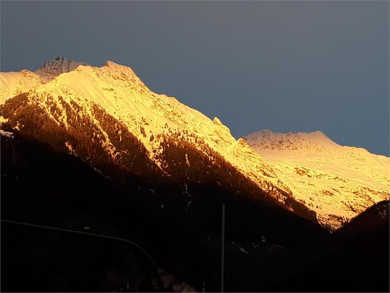 Sonnenaufgang im Spätherbst