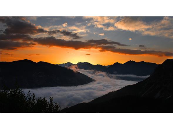 Sonnenaufgang im Pflerschtal