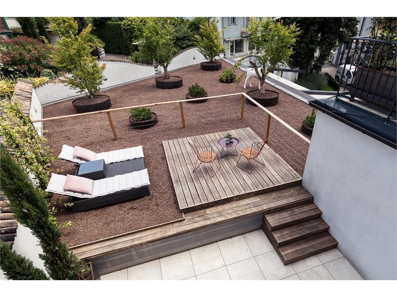 Dachterrasse Rosenbaum Junior Suite