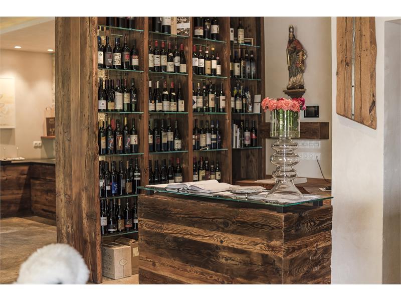 Visuelle Weinkarte Restaurant Kirchsteiger