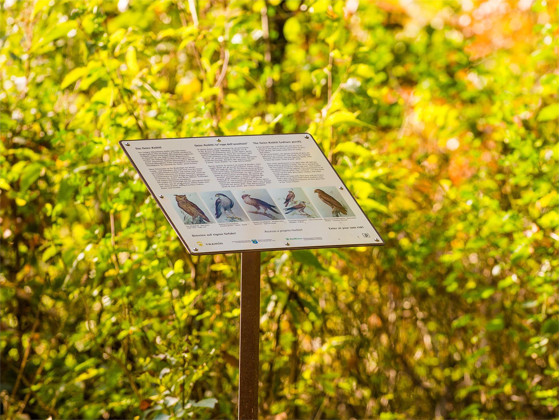 Sentiero Natura Viva a Termeno