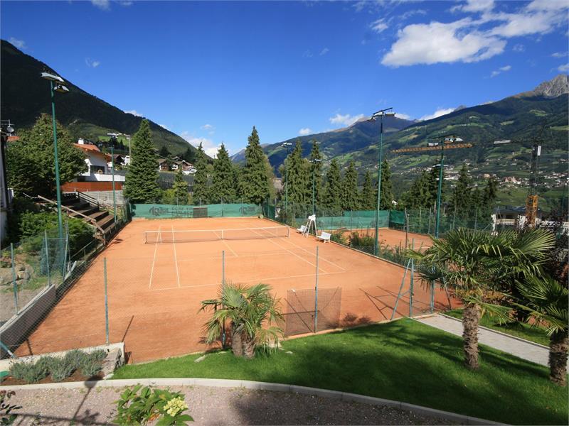 Tennisplätze Dorf Tirol