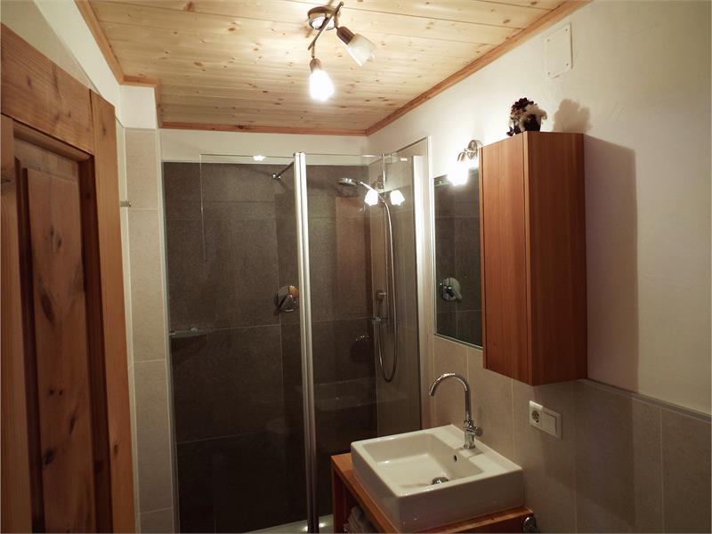 Das Badezimmer in der Ferienwohnung Südseite