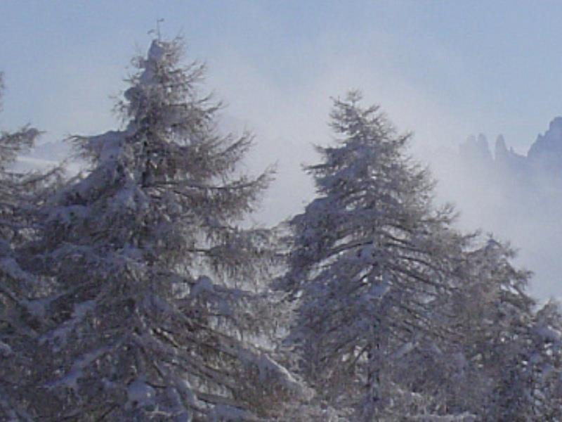 Winterwanderung über den Salten