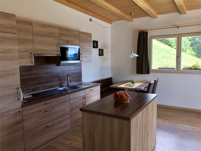 Cucina appartamento Rosa Alpina