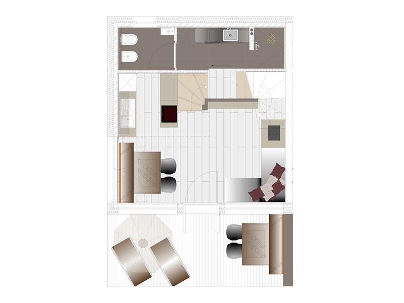 Plan EG Chalet2