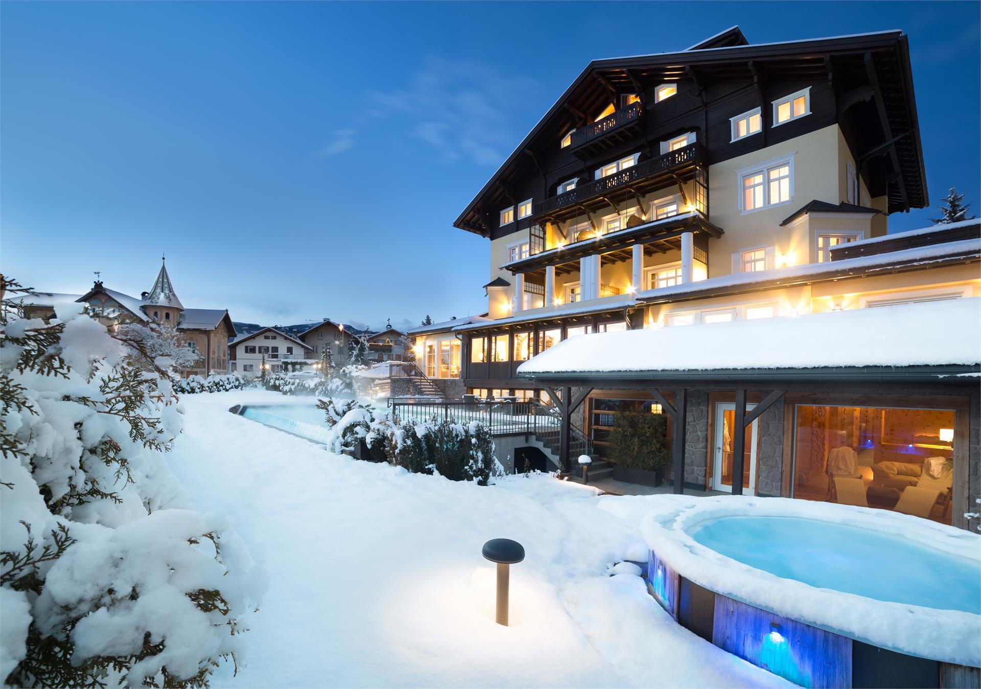 Hotel Villa Kastelruth - Winter in denDolomiten
