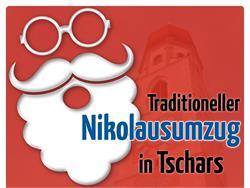 Traditioneller Nikolausumzug in Tschars