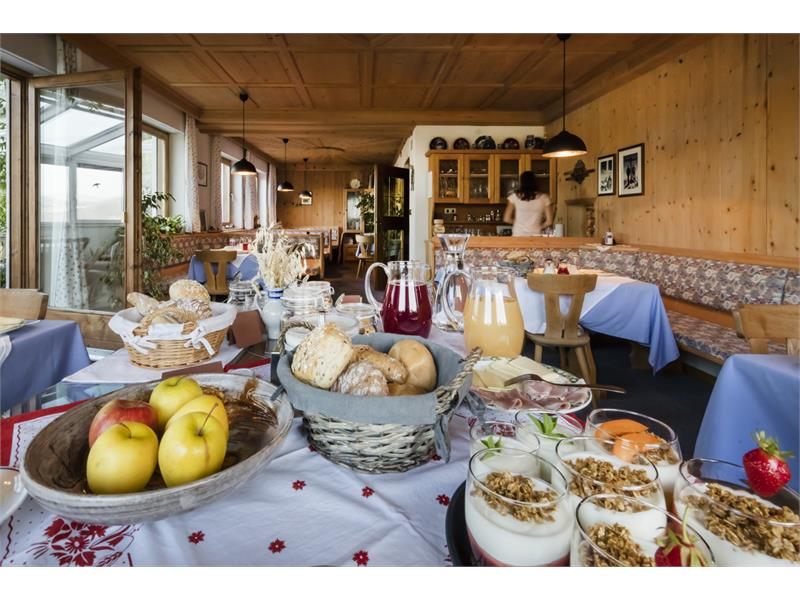 our breakfastroom made of wood