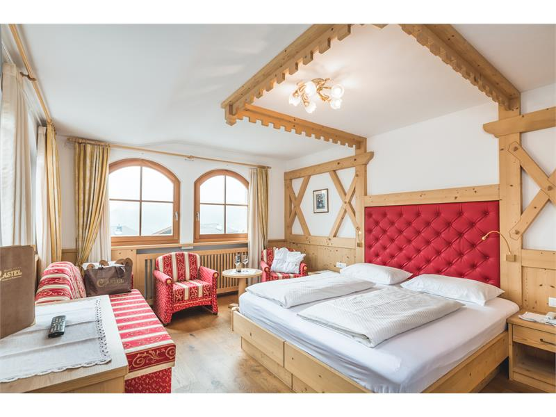 room in the tower Hotel Castel