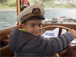 Schiffsrundfahrt über den Reschensee