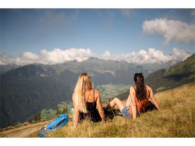 View Rosskopf Monte Cavallo Eisack Valley