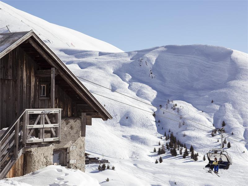 Das Ski- und Wandergebiet Meran 2000