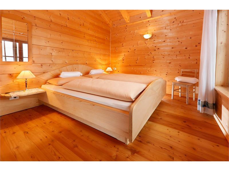 Schlafzimmer im Bergchalet Fuchsberger