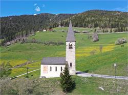 St. Margareth church in Margen/Terenten