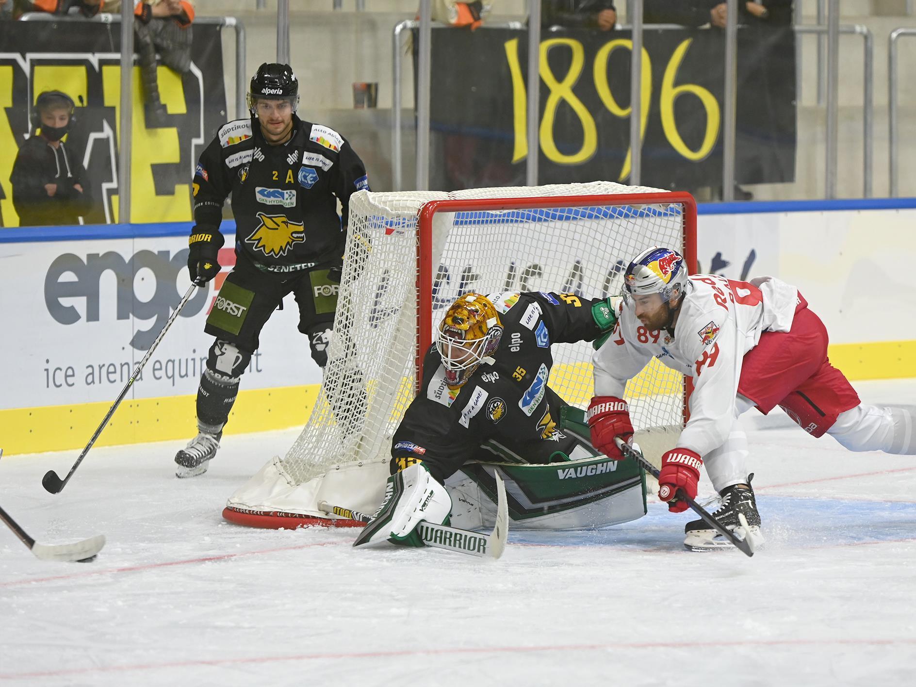 Partita di hockey su ghiaccio: HC Pustertal - Moser Medical Graz99ers